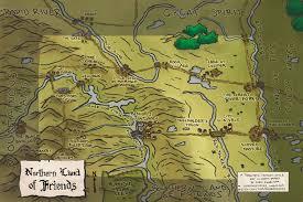 South Dakota Map With Cities A Toponymic Fantasy Style Map Of North Dakota Maps