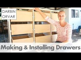 Woodworking Joints For Drawers by Making Drawers With Box Joints On The Table Saw 8 Steps With