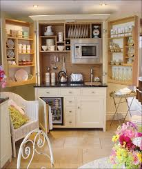 Free Standing Kitchen Cabinet Storage by Kitchen Pantry Closet Microwave Stand With Storage Freestanding