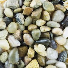 amazon com mini assorted garden beach stone rocks pebbles