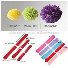 Flowers For Wedding 16inch 40cm Tissue Paper Pom Poms Wedding Party Decoration Craft