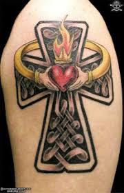 tattoo artist in mumbai celtic cross tattoo