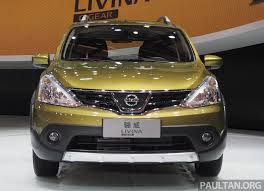 nissan grand livina nissan grand livina facelift introduced in indonesia