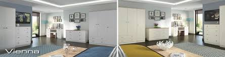 Ready Assembled Monaco Bedroom Furniture With  Deposit - Ready assembled white bedroom furniture