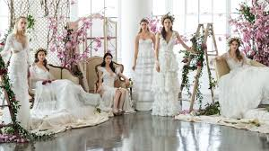 beautiful wedding the most beautiful wedding dresses from bridal fashion week