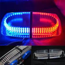 magnetic base strobe light red blue 240 led emergency hazard warning led mini bar strobe light