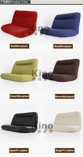 meuble design japonais design moderne étage canapé lit 5 position réglable canapé plaid