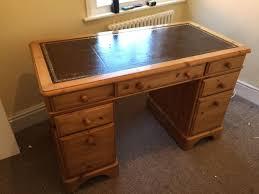Solid Oak Office Desk Solid Wood Desk Gt 004 Inde Design House Throughout Plans 8