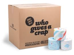Toilet Paper Funny Who Gives A Crap U0027 Eco Friendly Toilet Paper Funny Name Serious