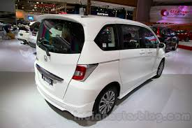 motor honda indonesia 2015 honda freed rear three quarters right at the indonesia