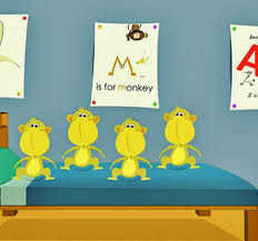 No More Monkeys Jumping On The Bed Song Five Little Monkeys Jumping On The Bed 3d Popular Kids Songs