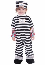 Halloween Jail Costumes Boys Girls Baby Fancy Dress Pirate Prisoner Costume Infant 6 12