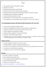 Sample Two Page Resume by Two Page Resume Sample