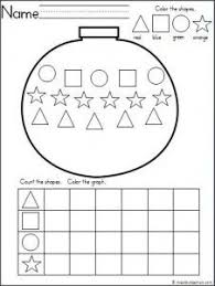 this is a winter hat theme graphing shapes activity for your