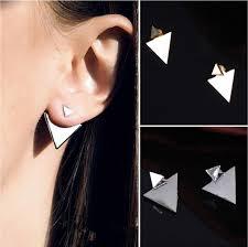 triangle earrings new arrival women triangle earrings jewelry stud earrings for