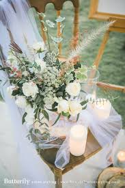 wedding butterfly event styling