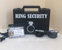 ring security wedding ring security black box briefcase sunglasses badge ring