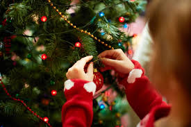 decorating for christmas with a toddler stay at home mum