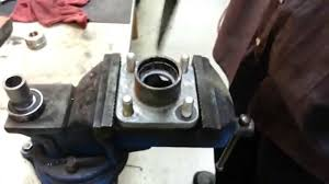 club car precedent front hub bearing replacement youtube