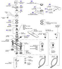 delta faucet parts faucets simple kitchen sink repair parts