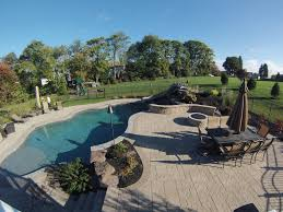 landscaping around pools c e pontz sons landscape contractors