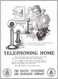 history of telephone telephone history social reaction