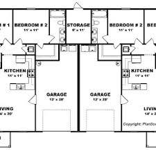 floor plans ranch bedroom duplex plan garage per unit j open floor plans ranch