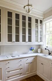 wainscoting backsplash kitchen seeded glass butler pantry cabinets with wainscoting backsplash