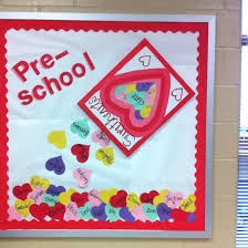 Classroom Decoration For Valentine S Day by Pre K Bulletin Boards For February Reading Rubric Chart