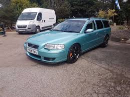volvo v70 r awd 300 bhp manual in peterhead aberdeenshire