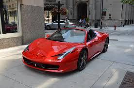 used 458 spider 2014 458 spider stock 99655 for sale near chicago il