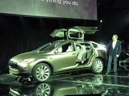 suv tesla 2014 tesla model x all electric gullwing suv new info photos