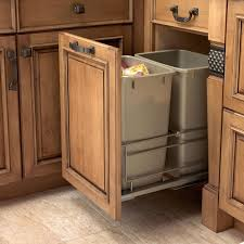 kitchen island trash bin awesome kitchen island with garbage storage cart trash bin image for