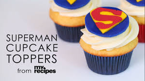 superman cake toppers how to make superman cupcake toppers myrecipes