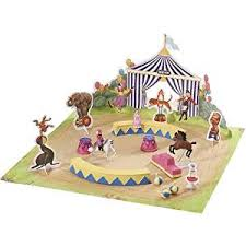 minnie whinnies breyer mini whinnies circus city backpack play set