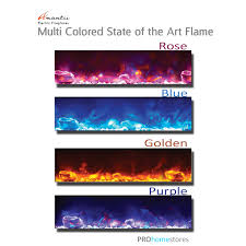 amantii fire and ice design series electric fireplaces with design