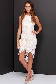 keepsake dresses keepsake i will wait dress ivory lace dress high low dress