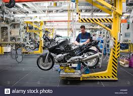 bmw factory tour bmw motorbike factory in berlin spandau berlin germany stock