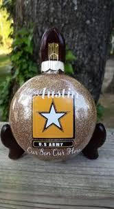 blond soldier us army veteran ornament
