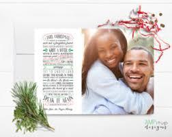 photo christmas cards etsy