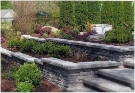 backyard design wonderful garden retaining wall carolbaldwin