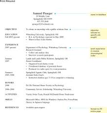 Sample Resume For First Year College Student by The Norton Field Guide To Writing