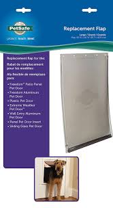 Patio Pet Door Company by Amazon Com Petsafe Dog And Cat Door Replacement Flap Large 10