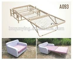 folding sofa bed frame inexpensive all metal structure folding sofa bed frame buy