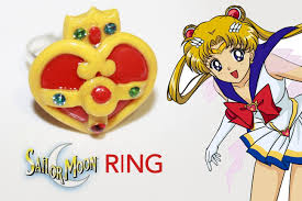 sailor moon s ring polymer clay tutorial youtube