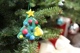 toddler diy project crayola model magic ornaments