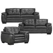 dark grey leather sofa city furniture trevor dark gray leather chair