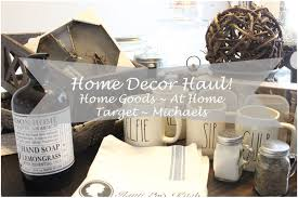 home decor haul home goods at home target houseofmeis youtube