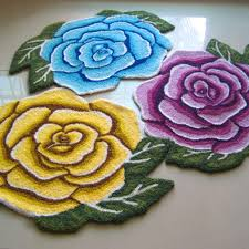 Shaped Area Rugs Beautiful Flower Shaped Area Rugs Designs Rug Ideas