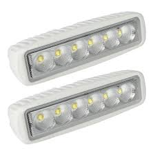 12 Volt Light Fixtures For Boats by Amazon Com Leaningtech White Spreader Led Deck Marine Lights